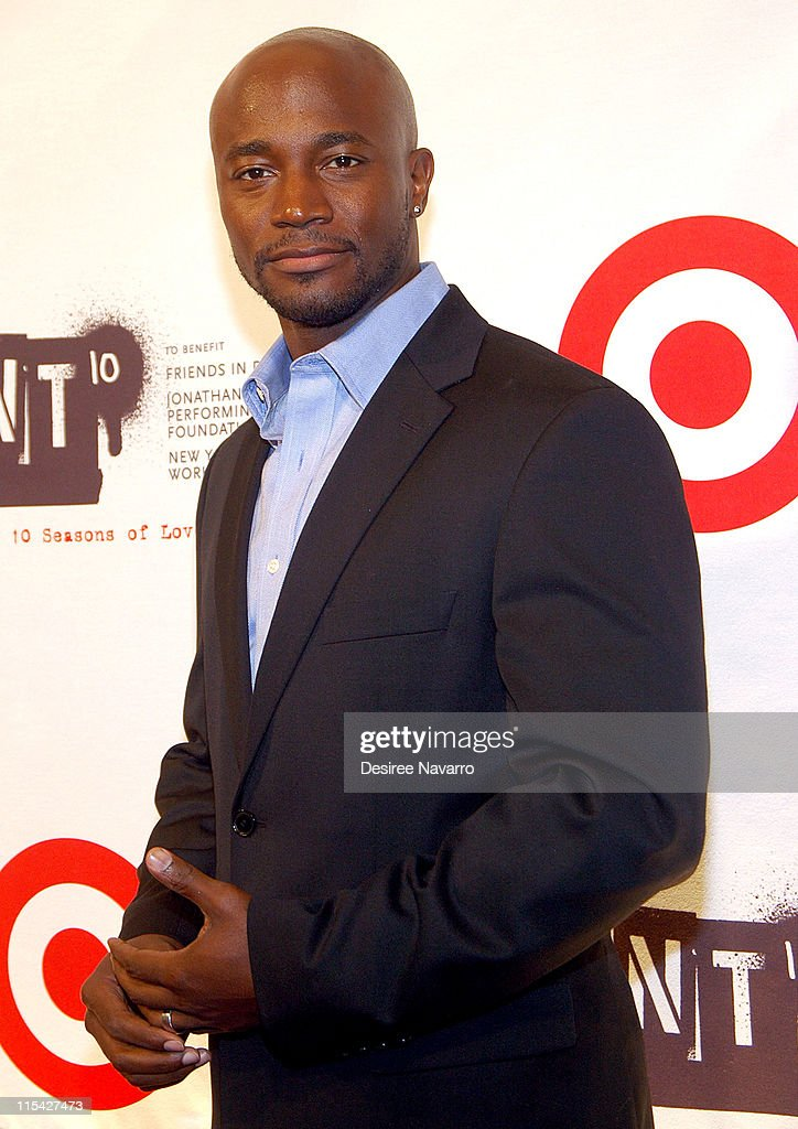 Taye Diggs during 'Rent' 10th Anniversary Celebration - After Party at Cipriani 42nd Street in New York City, New York, United States.