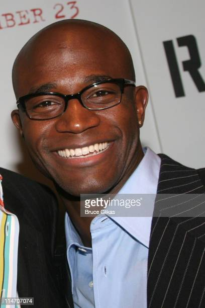 Taye Diggs during ''Rent'' New York City Premiere - Arrivals at Ziegfeld Theater in New York City, New York, United States.