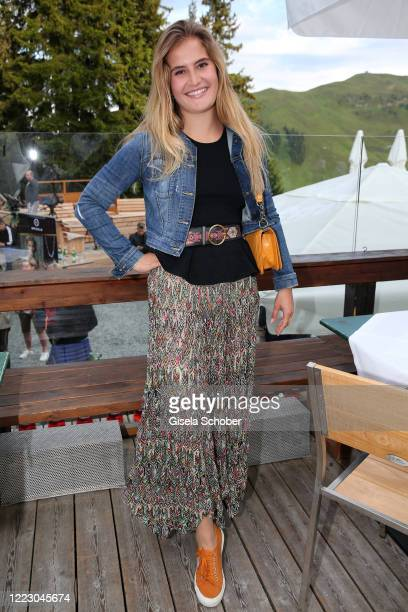 Tayla BalzariniSwarovski daughter of Fiona Swarovski during the first Ladies Day and start of the Queens Club hosted by Maria HoeflRiesch on June 26...