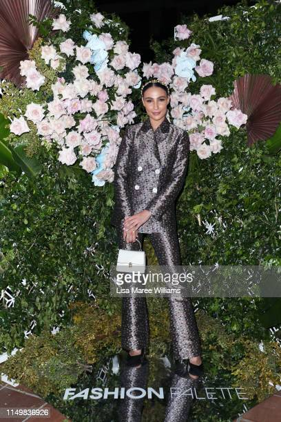 Tayla Damir attends the Fashion Palette 10th Anniversary Event on May 17, 2019 in Sydney, Australia.