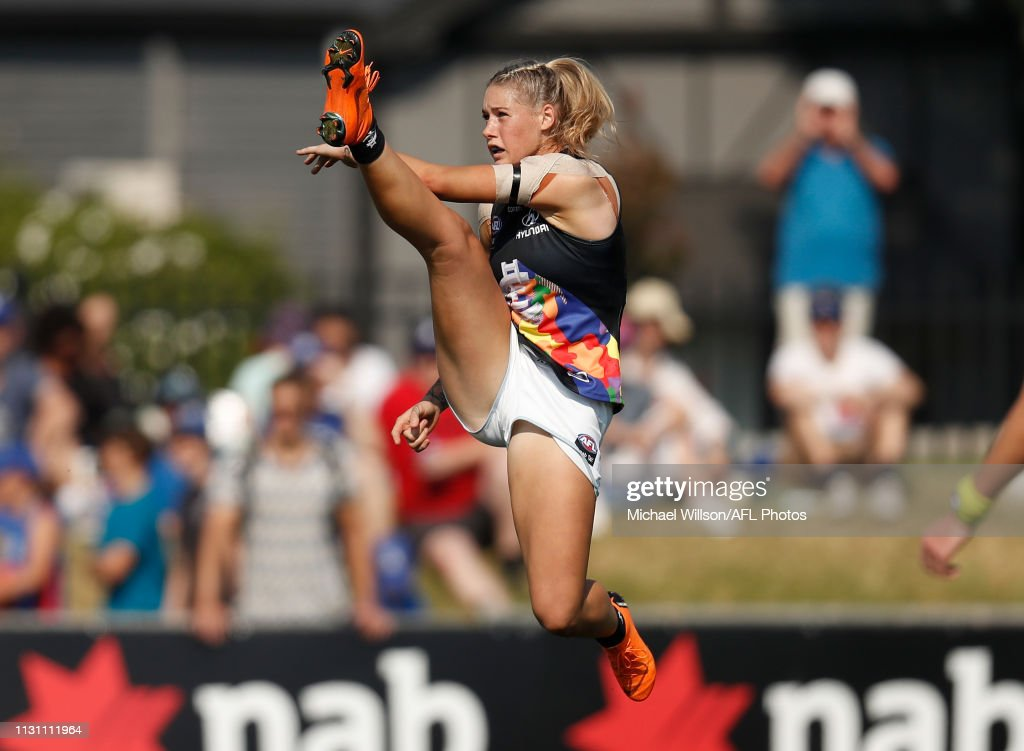 AFLW Rd 7 - Western Bulldogs v Carlton : News Photo