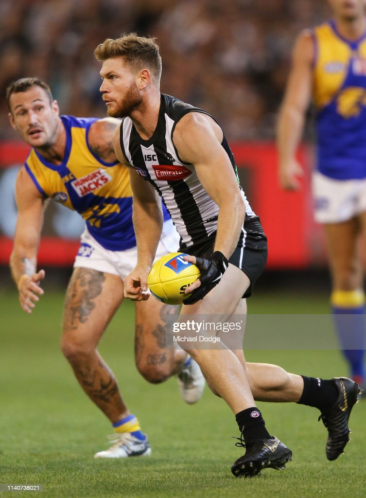 AFL Rd 3 - Collingwood v West Coast : News Photo