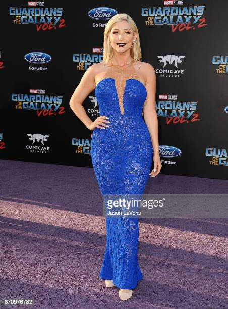Taylor Ann Hasselhoff attends the premiere of Guardians of the Galaxy Vol 2 at Dolby Theatre on April 19 2017 in Hollywood California