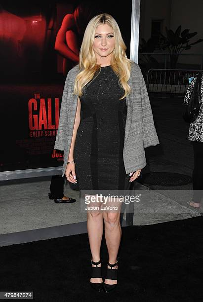 Taylor Ann Hasselhoff attends the premiere of The Gallows at Hollywood High School on July 7 2015 in Los Angeles California