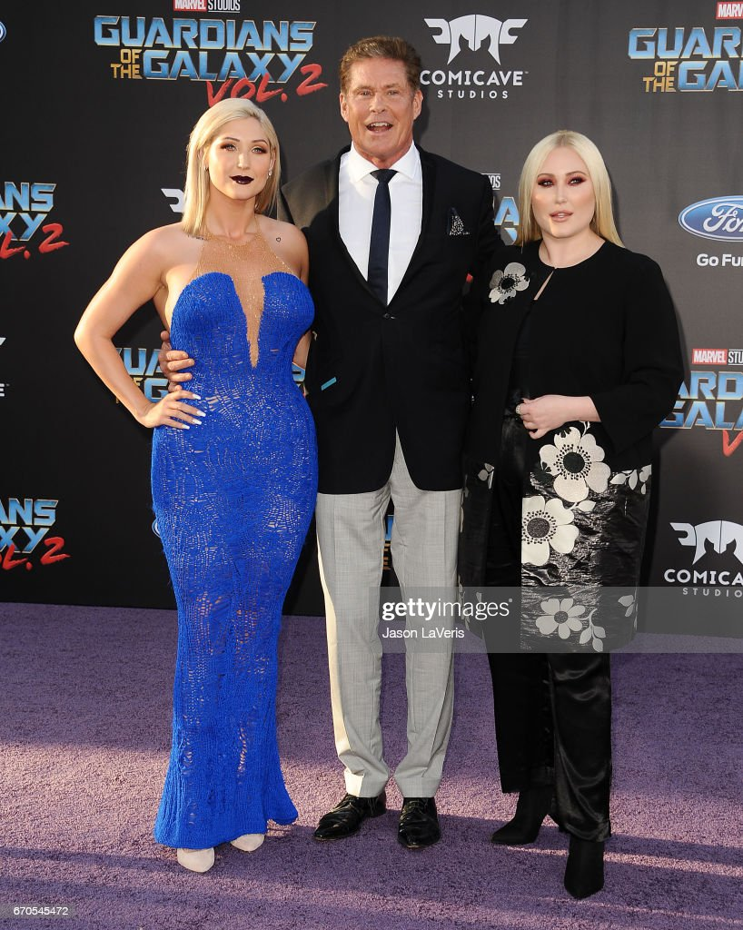 """Premiere Of Disney And Marvel's """"Guardians Of The Galaxy Vol. 2"""" - Arrivals : News Photo"""
