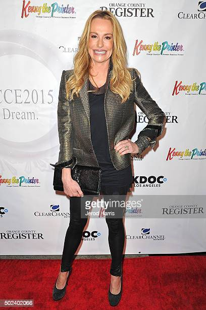 Taylor Armstrong attends the OC Christmas Extravaganza Concert and Ball at Christ Cathedral on December 23 2015 in Garden Grove California