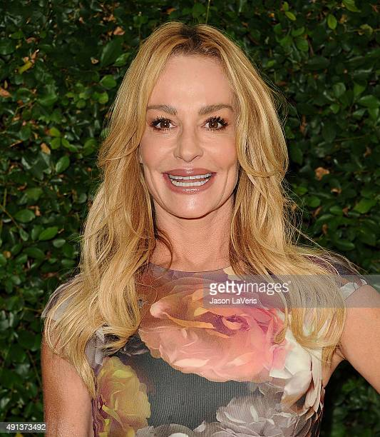 Taylor Armstrong attends the Rape Foundation's annual brunch at Greenacres The Private Estate of Ron Burkle on October 4 2015 in Beverly Hills...