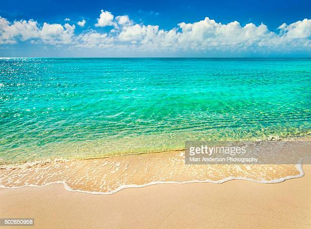 taylor beach turks and caicos - turks and caicos islands stock pictures, royalty-free photos & images