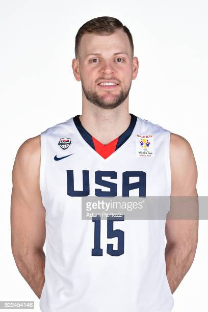 Taylor Braun of Team USA poses for a head shot on February 20 2018 at the LA Clippers Training Center in Playa Vista California NOTE TO USER User...