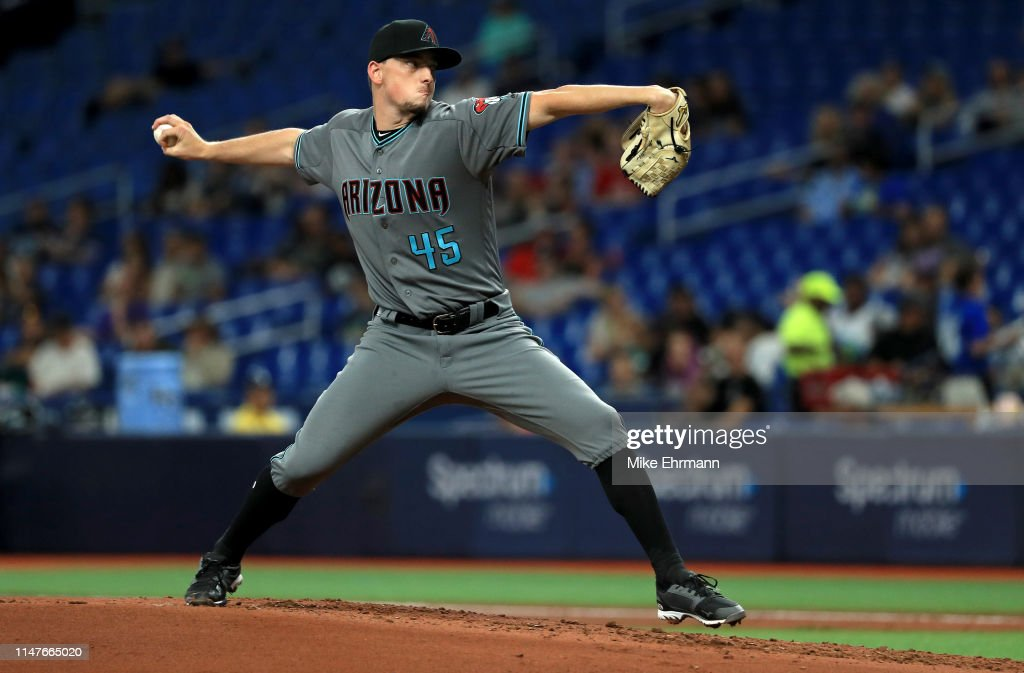 Arizona Diamondbacks v Tampa Bay Rays : News Photo