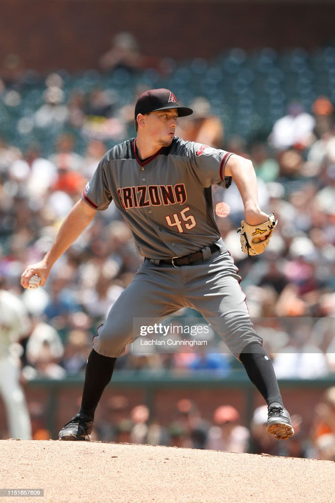 CA: Arizona Diamondbacks v San Francisco Giants