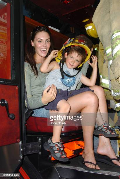 Taylor Cole and Cameron during 2nd Annual Franklin Village Street Fair at Franklin Street in Los Angeles California United States