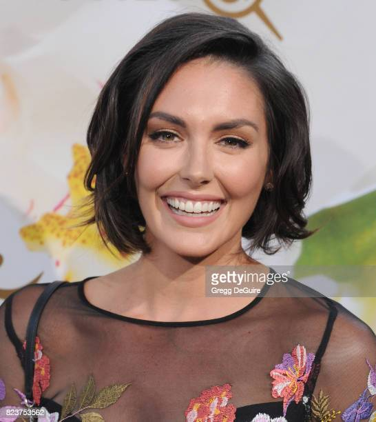 Taylor Cole arrives at the 2017 Summer TCA Tour Hallmark Channel And Hallmark Movies And Mysteries at a private residence on July 27 2017 in Beverly...