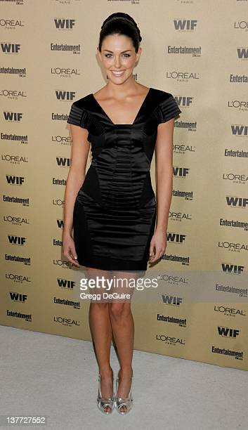 Taylor Cole arrives at the Entertainment Weekly and Women In Film PreEmmy Party at the Restaurant at the Sunset Marquis Hotel on August 27 2010 in...