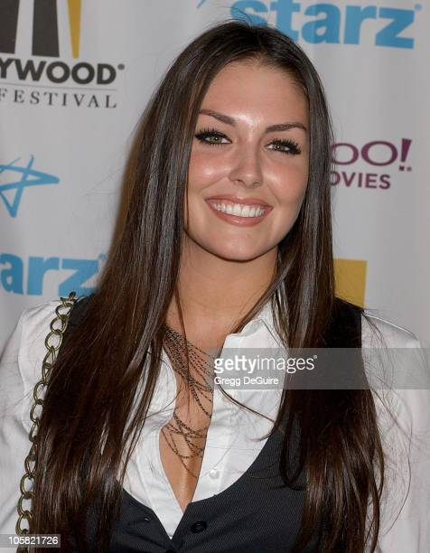 Taylor Cole during Hollywood Film Festival's Opening Night Film Gala of Flicka Arrivals at ArcLight Theatre in Hollywood California United States