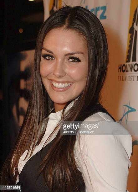 Taylor Cole during Hollywood Film Festival's Opening Night Film Gala of Flicka Red Carpet at The Arclight Theater in Hollywood California United...