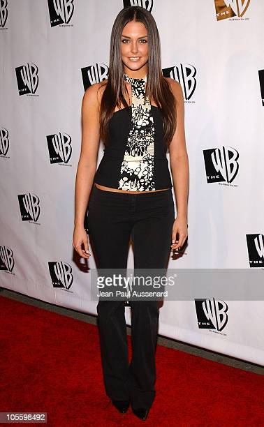 Taylor Cole during The WB Television Network's 2005 All Star Party Arrivals at Warner Bros Studio in Burbank California United States