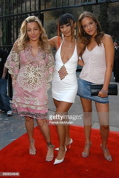 Taylor Dane, Bai Ling and Alicja Bachleda-Curus attend OUTFEST 2005 Awards at Ford Amphitheatre on July 17, 2005 in Hollywood, CA.