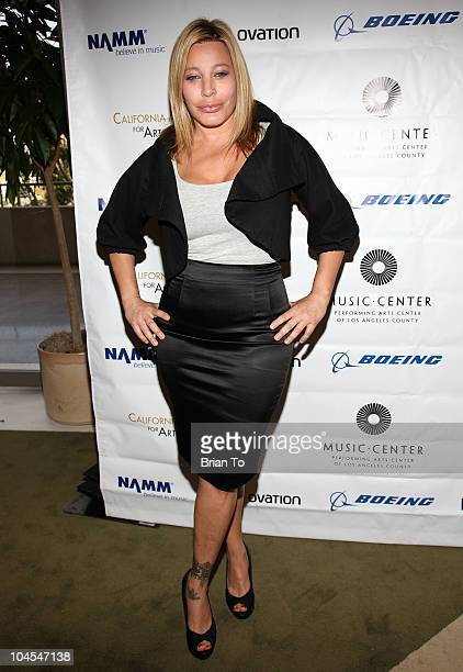 Taylor Dayne attends Education Creativity And California's Future forum at Grand Hall at the Dorothy Chandler Pavililon on September 29 2010 in Los...