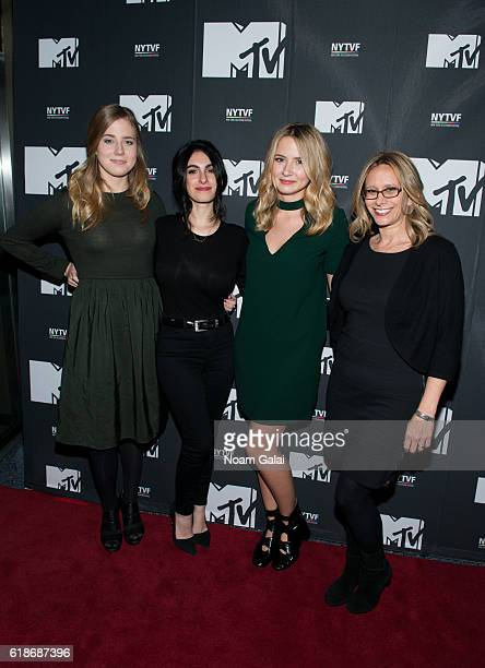 Taylor Dearden Jennifer Robinson Eliza Bennett and Amanda Lasher attends 'The Struggle Is Real Gender Race Entrepreneurship And The Women Of MTV'...