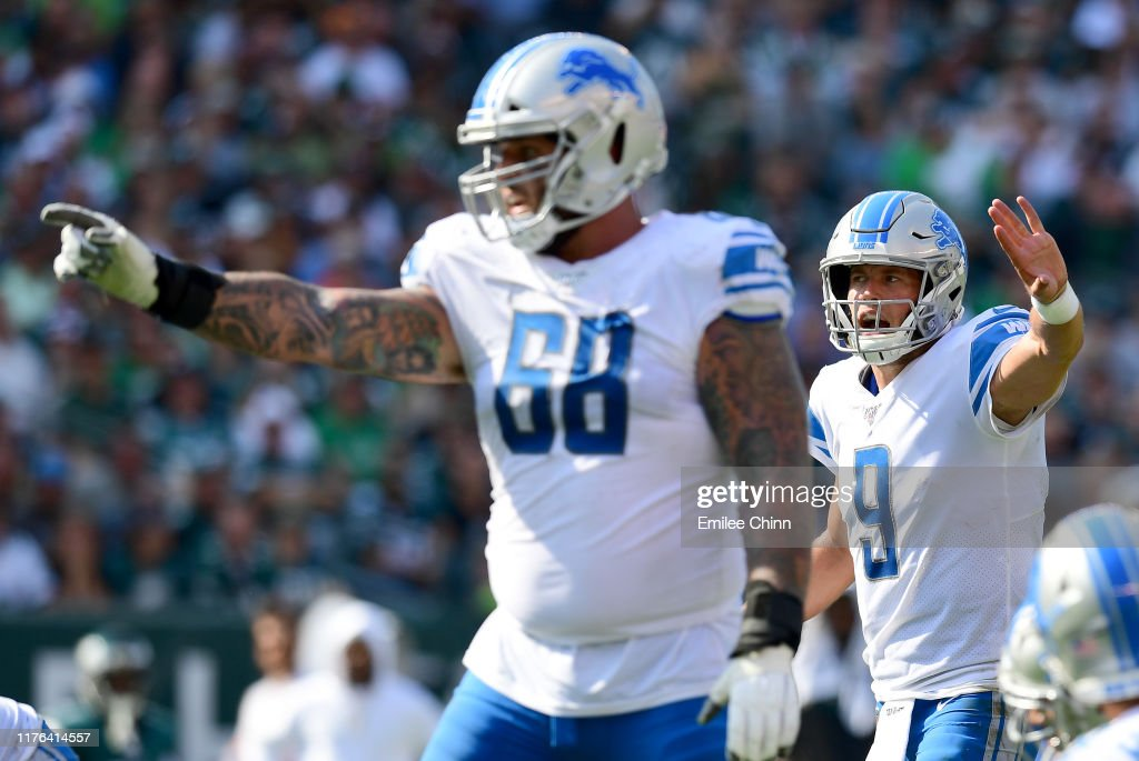 Detroit Lions vPhiladelphia Eagles : News Photo