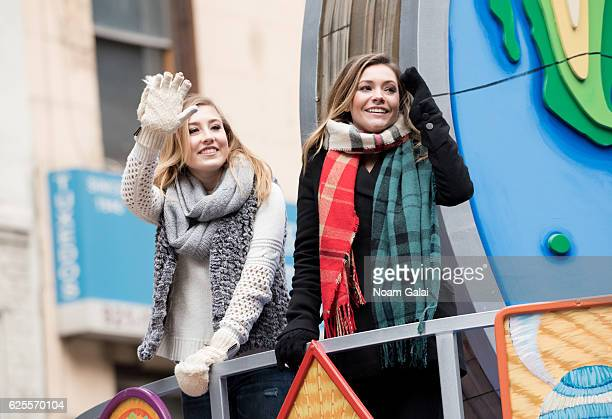 Taylor Dye and Maddie Marlow of Maddie Tae attend the 90th Annual Macy's Thanksgiving Day Parade on November 24 2016 in New York City