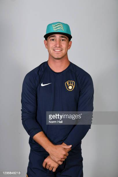 Taylor Floyd of the Salt Rive Rafters poses for a headshot during the 2021 Arizona Fall League Headshots at Salt River Fields at Talking Stick on...