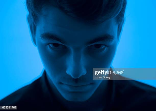 Taylor Fritz of USA poses for a portrait at the O2 Arena on November 13, 2016 in London, England.