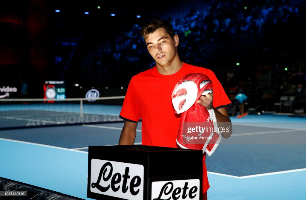 Next Gen ATP Finals - Day One : News Photo