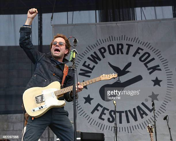 Taylor Goldsmith of Dawes as part of ''65 Revisited' in celebration of the 50th anniversary of Bob Dylan going electric at Newport at the 2015...