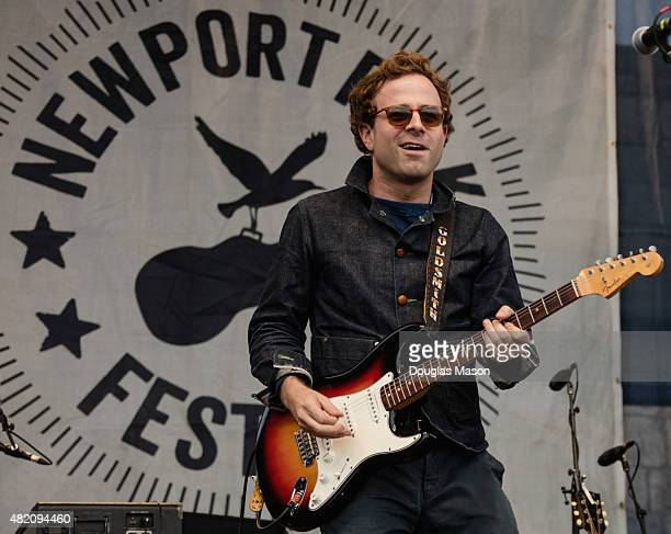 Taylor Goldsmith of Dawes performs with Bob Dylan's guitar during '65 Revisited' a celebration of the 50 year anniversary of Bob Dylan's electric...