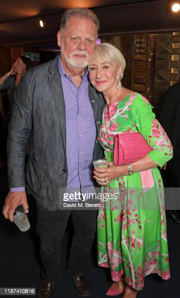 Taylor Hackford and Dame Helen Mirren attend a special screening of Fast Furious Hobbs Shaw at The Curzon Mayfair on July 23 2019 in London England