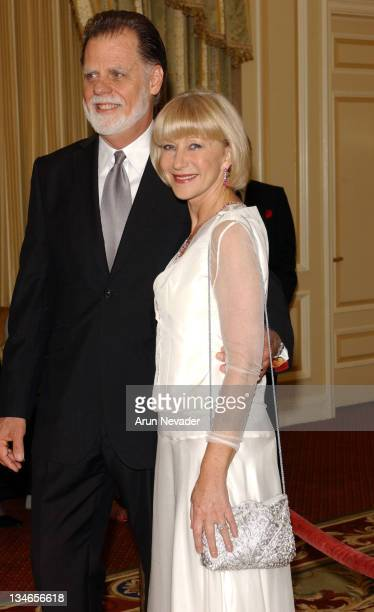 Taylor Hackford and Helen Mirren during 48th San Francisco International Film Festival Film Society Awards Night Honors Joan Allen Taylor Hackford...