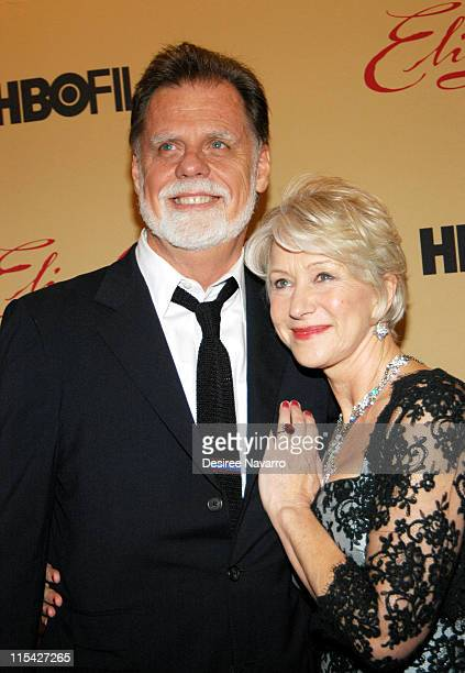 Taylor Hackford and Helen Mirren during Elizabeth I New York Premiere at The Museum of Modern Art in New York City New York United States