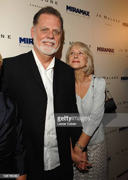 Taylor Hackford and Helen Mirren during Miramax Films and British Fragrance House Jo Malone Join to Celebrate 2007 OscarNominated Films The Queen and...