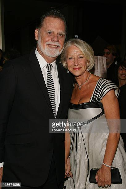 Taylor Hackford and Helen Mirren during New York Film Festival premiere of Miramax Films The Queen Arrivals at Lincoln Center in New York City New...