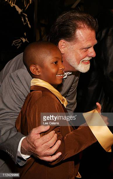 Taylor Hackford director/producer/story writer and C J Sanders