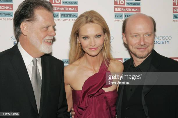 Taylor Hackford Joan Allen and Paul Haggis during 48th Annual San Francisco International Film Festival Awards Night at RitzCarlton Hotel Ballroom in...