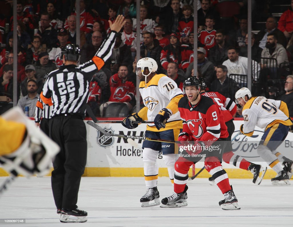 Nashville Predators v New Jersey Devils : News Photo