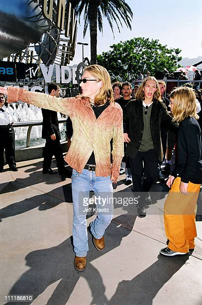 Taylor Hanson during 1998 MTV Video Music Award Arrivals at Universal Studios in Universal City CA United States
