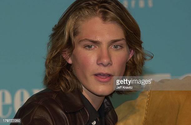 Taylor Hanson during 2000 Teen Choice Awards at Barker Hanger in Santa Monica California United States
