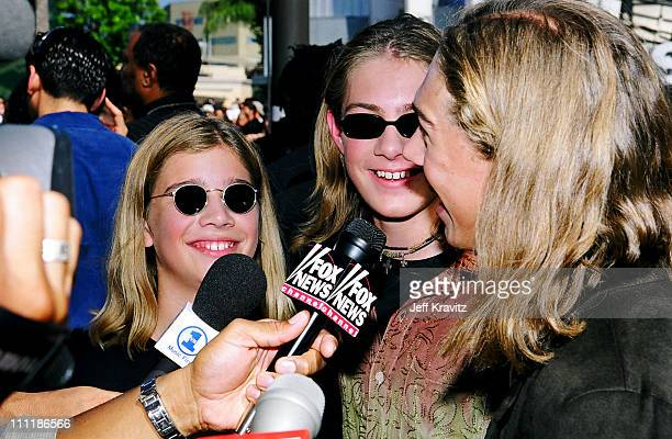 Taylor Hanson Zac Hanson and Isaac Hanson during 1998 MTV Video Music Award Arrivals at Universal Studios in Universal City CA United States