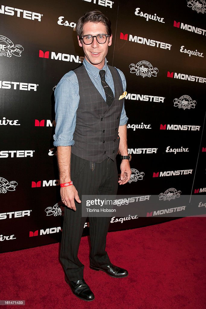Taylor Hart attends the 'House of Hype' Monster Grammy party at SLS Hotel on February 10, 2013 in Los Angeles, California.