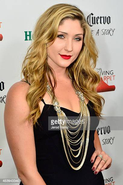 Taylor Hasselhoff attends OK TV Awards Party at Sofitel Hotel on August 21 2014 in Los Angeles California