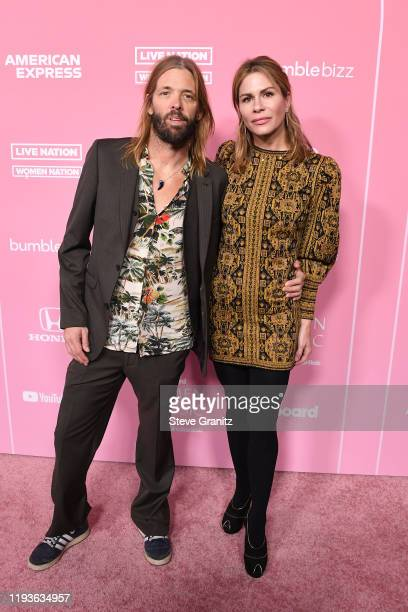 Taylor Hawkins and Alison Hawkins attend the 2019 Billboard Women In Music at Hollywood Palladium on December 12, 2019 in Los Angeles, California.