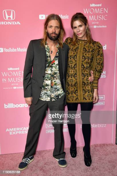 Taylor Hawkins and Alison Hawkins attend the 2019 Billboard Women In Music at Hollywood Palladium on December 12 2019 in Los Angeles California