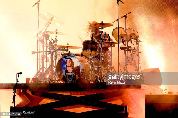 Taylor Hawkins of the Foo Fighters performs onstage at DIRECTV Super Saturday Night 2019 at Atlantic Station on February 2 2019 in Atlanta Georgia