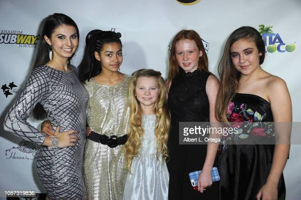 Taylor Hay Journey Slayton Elexus Ray Savannah Liles and Alyssa de Boisblanc attend Star For A Night To Benefit Cancer For College held at The Vortex...