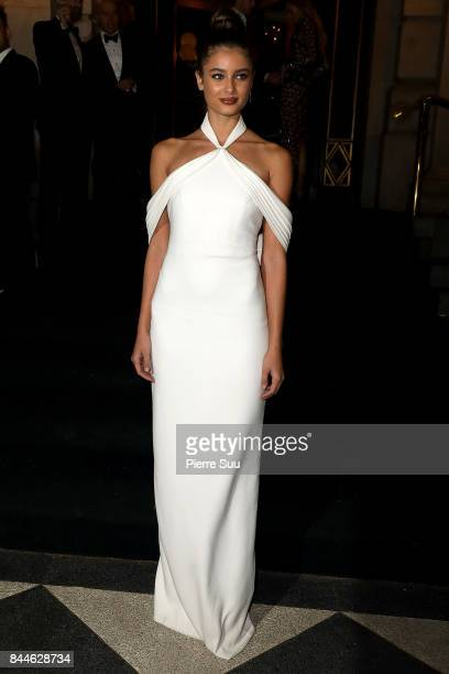 Taylor Hill arrives at Harper's BAZAAR Celebration of 'ICONS By Carine Roitfeld' at The Plaza Hotel presented by Infor Laura Mercier Stella Artois...
