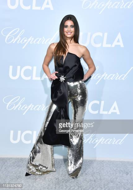 Taylor Hill arrives at the 2019 Hollywood For Science Gala at Private Residence on February 21, 2019 in Los Angeles, California.